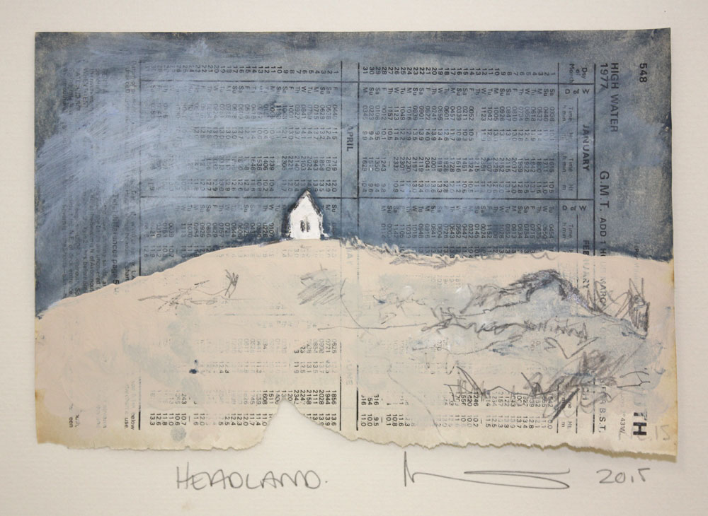 Headland/Drawing 15 X 21 cms Gouache On Paper £50